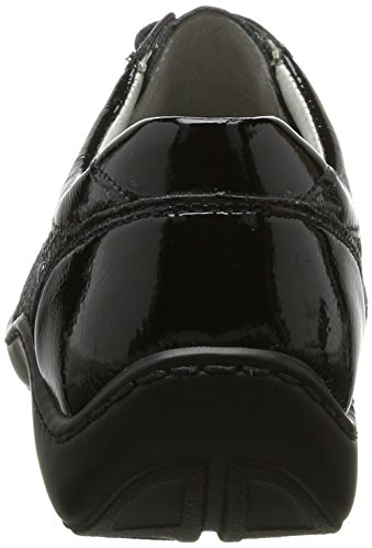 WaldläuferHenni - Zapatos Derby Mujer Mehrfarbig (5X Taipei Pito Schwarz Anthrazit)