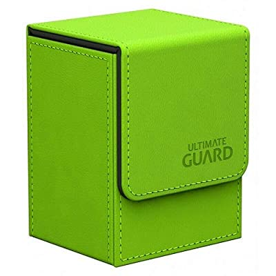 Ultimate Guard Leather Deck Box – Green: Toys & Games