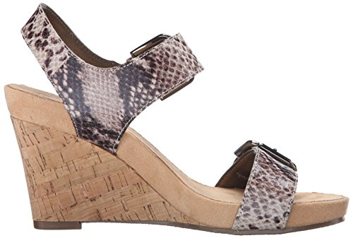 Aerosoles Donna Mega Plush Sandalo Con Zeppa Color Marrone Chiaro