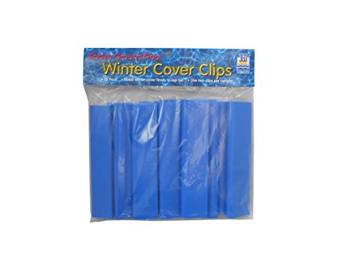 (Jed Pool Tools 20-206-D Usa Floating Duck Thermometerjed Pool Tools Winter Cover Clips, 12 Count)