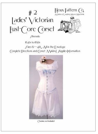 Steampunk Sewing Patterns- Dresses, Coats, Plus Sizes, Men's Patterns 1840-1900 Ladies Victorian Underwear Corset Chemise Drawers 1840-1900 Sewing Pattern Lmm100 (Pattern Only) Laughing Moon Mercantile $10.60 AT vintagedancer.com