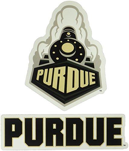 Rico Industries NCAA Purdue Boilermakers 2-Pack Die Cut Team Logo Magnet Set