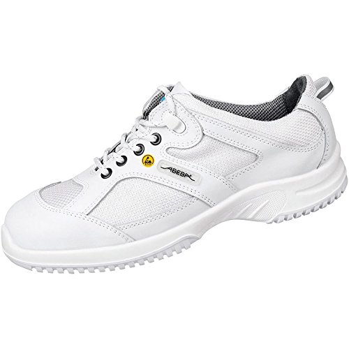 Abeba 36720-38 Uni6 Chaussures bas ESD Taille 38 Blanc