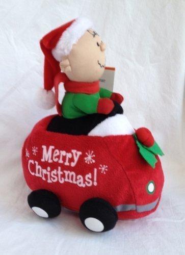 Peanuts Charlie marron Speedster Wobbler Animated Musical voiture by Gemmy by Gemmy