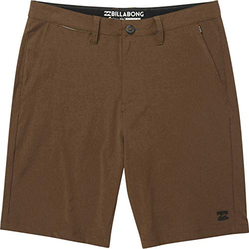 Billabong Men's Cross Fire X Hybrid Shorts Dark Earth 33 ()
