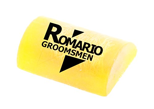 Price comparison product image Romario Groomsmen - - Lemonglass WILD HONEY Aroma Hand Made Luffa Soap to clean dirt from body (Bar Soap with Natural Loofah Sponge Scrubber) 100g Brightening & Soft Skin