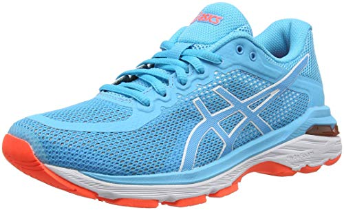 Aquarium Running Chaussures 4 Pursue Bleu Gel 400 de Asics Aquarium Femme qzwCx