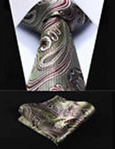 Olive Martini Costume (Dream Pole PP923T8S Olive Green Paisley 3.4