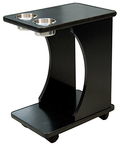 MRC POKER Classic Poker Table Drink Carts Black Color by MRC POKER