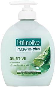 Palmolive Hygiene Plus Sensitive Liquid Handwash with Aloe (300ml) - Pack of 6 by Palmolive