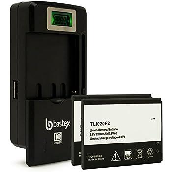 Amazon.com: Genuine OEM Alcatel TLIB5AF 1800mAh 3.7V Battery ...