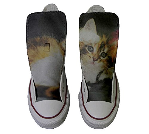 Converse All Star personalisierte Schuhe - HANDMADE SHOES - Kitty