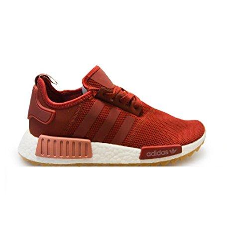 Adidas Originals Nmd_r1 Trail W Unisex Hardloopschoenen Sneakers (uk 7.5 Us 8 Eu 41 1/3, Maroon White S81047)