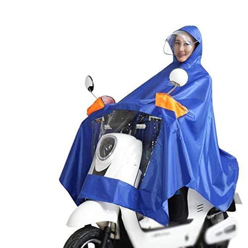 Lluvia 1 Sólido Aire Eléctrico Sombrero Estilo Poncho Motocicleta Al Especial De Moda A Grueso Libre Coche Prueba Color Doble Impermeable H14w7SWR4