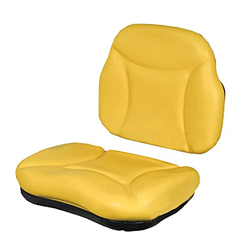5000SCKIT Yellow Seat Cushion Kit for RE62227 Seat Made for John Deere