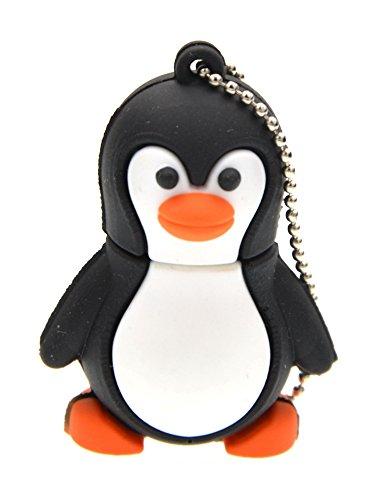 Price comparison product image FEBNISCTE Cartoon 8GB Penguin Shape USB 3.0 Storage Thumb Stick