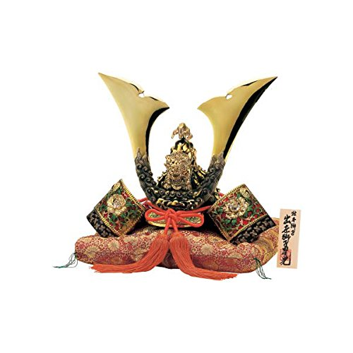 [Premium] Japanese Samurai Kabuto helmet - Tiger & Peony, Star - with cushion, box, tag - Japan import [Standard ship by EMS with Tracking number & Insurance]
