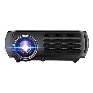 Bangxiu 1080P HD 4K Proyector LCD 950 lúmenes 1280X800dpi 3D ...