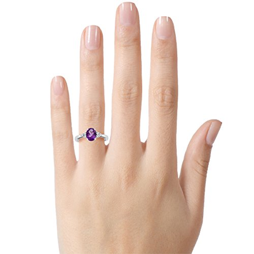 Buy ring 6 amethyst