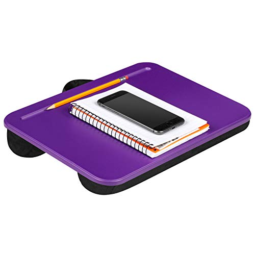 Best Prices! LapGear Compact Lap Desk - Purple - Fits Up to 13.3 Inch Laptops - Style No. 43102