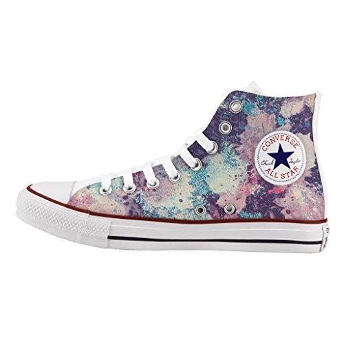 de Personalizados e impresos Violet artesanía zapatos Converse wUvqznHRz
