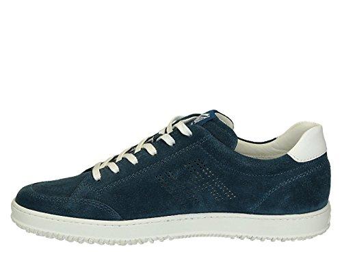 Hogan Sneaker H168 serraje perforado h - Número de modelo: HXM1680Q3804VA2AN5 Azure