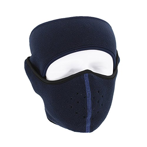 ViewHuge Winter Men Women Half Face Mask Windproof Ski Cycling Motorcycle Snowboard Balaclava Mouth Cover+Headband ()