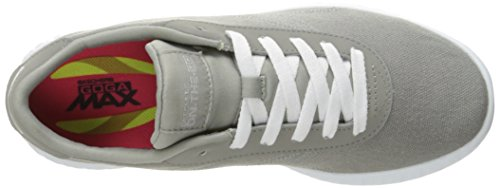 Skechers On The Go Glide Sprint Damen US 8.5 Grau Turnschuhe