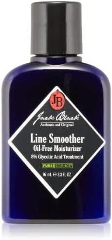Jack Black Line Smoother Oil-Free Moisturizer 8% Glycolic Acid Treatment, 3.3 fl. oz.
