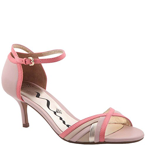 Nina Womens Chantelle Open Toe Ankle Strap D-Orsay Pumps Ballet Pink tsvM0C