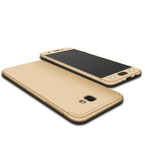 Slim Shockproof Case for Samsung Galaxy On7 (Gold) - 8