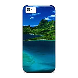 For Iphone Case, High Quality Blue Water For Iphone 5c Cover Cases