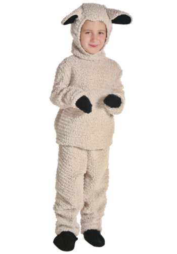 [Fun Costumes Big Boys' Sheep Costume Small] (Childrens Sheep Costumes)