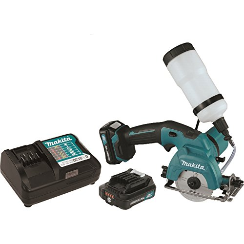 Makita CC02R1 12V MAX CXT Lithium-Ion Cordless Tile/Glass Saw Kit