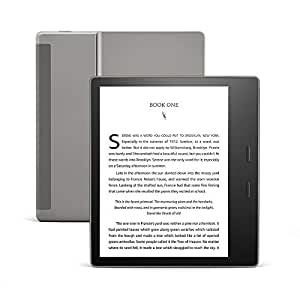 "All-New Kindle Oasis (10th Gen), Now with adjustable warm light, 7"" Display, Waterproof, 8 GB, Wi-Fi, Graphite"