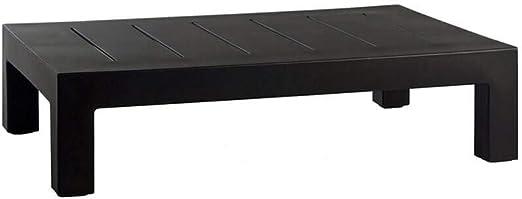 Vondom Jut mesa baja de exterior negro: Amazon.es: Jardín