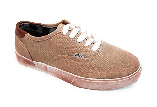 Avirex Men's Trainers Beige vA7Dg