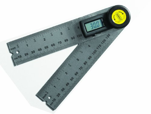 - General Tools 822 Digital Angle Finder Rule, 5-Inch