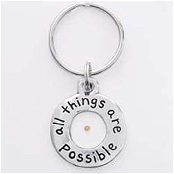 Amazon Mustard Seed Keyring Key Tags And Chains Grocery