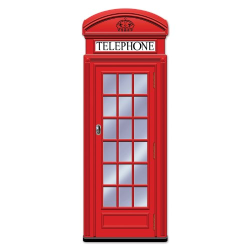 Beistle 54112 Jointed Phone Box, 5-Feet -