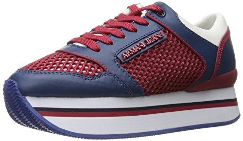 Armani Jeans Women's Jeans Double Decker Fashion Sneaker ...