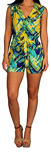 Apple Bottoms Jr. Plus Short Romper, Carribean, Size (Apple Bottoms Womens Clothing)