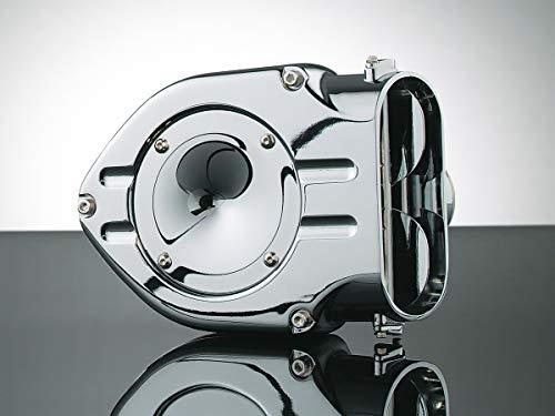 (Kuryakyn 9423 Hypercharger Air Cleaner/Filter for Metric Cruisers: 1999-2009 Yamaha V Star 1100 Motorcycles, Chrome)