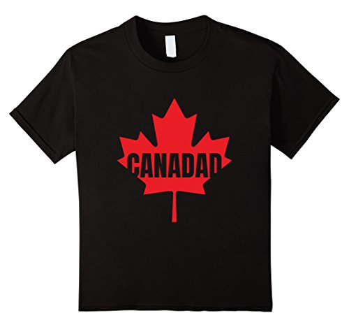Kids Canadad T-Shirt | Happy Canada Fathers Day Tee Shirt 10 - Canada Fathers Day