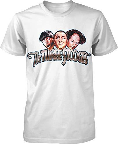 Hoodteez The Three Stooges, Moe, Larry, Curly