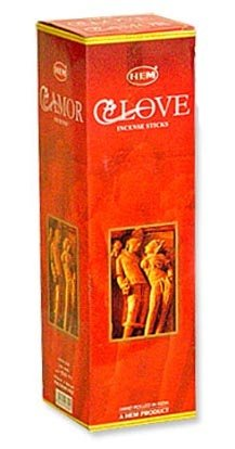 Love - Incense - 8 gram Box - HEM (3 Pack)