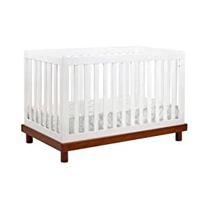 Baby Mod Olivia 3 In 1 Baby Crib Amber And White Baby Toys Baby