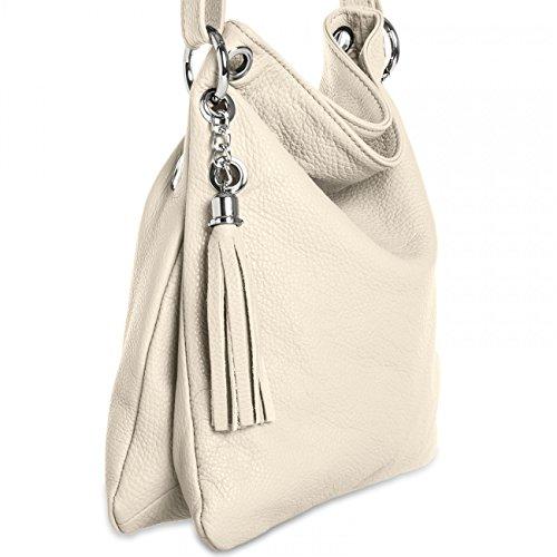 cuir en à femme main TL571 Sac beige CASPAR pour wqSXR