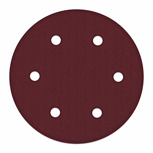 ALEKO 10SPDP3000-80G 9 Inch 6 Hole 80 Grit Sanding Discs Sandpaper for Drywall Sander 10 (80 Grit Drywall Sander)