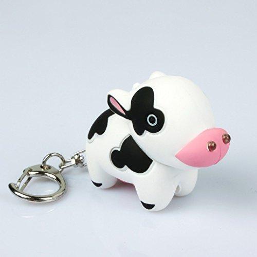 Cow Keychain Led Light - 8